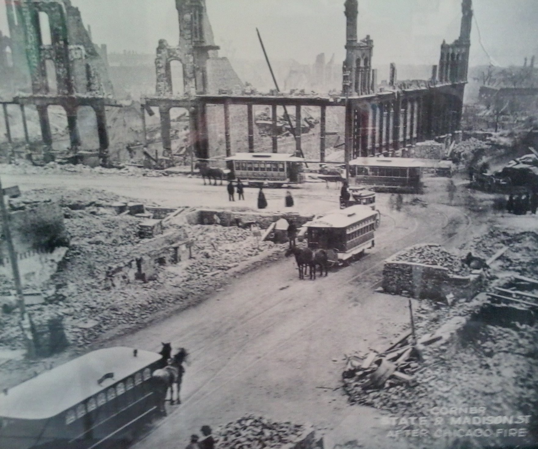 How Many Buildings Were Destroyed In The Great Chicago Fire